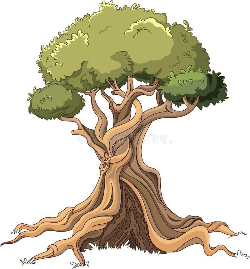 Величественное дерево бесплатная иллюстрация