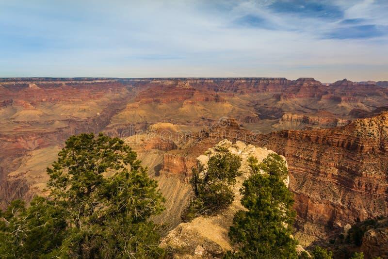 Величественный гранд-каньон, Аризона, Соединенные Штаты стоковые изображения