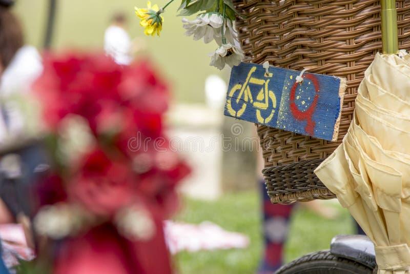 Велосипед вполне деталей стоковые изображения