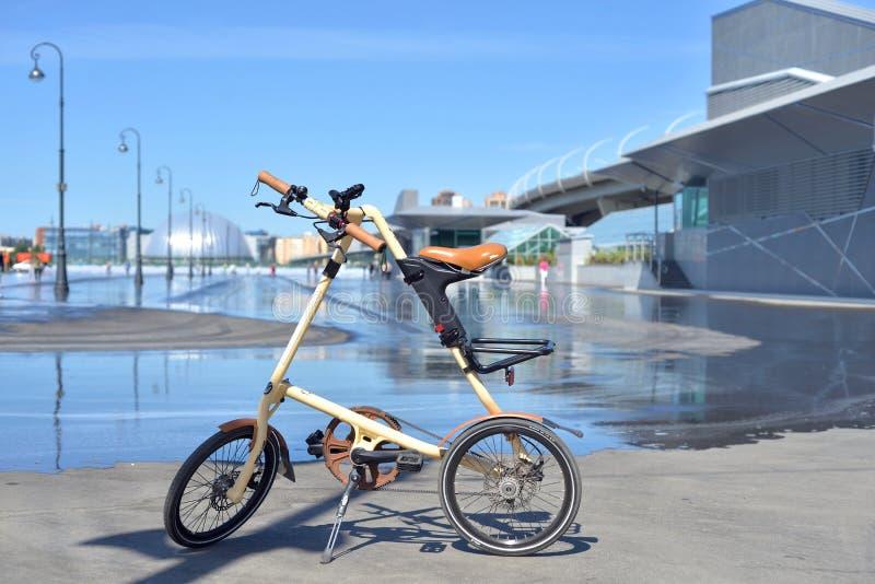 Велосипед складчатости Strida стоковые фото