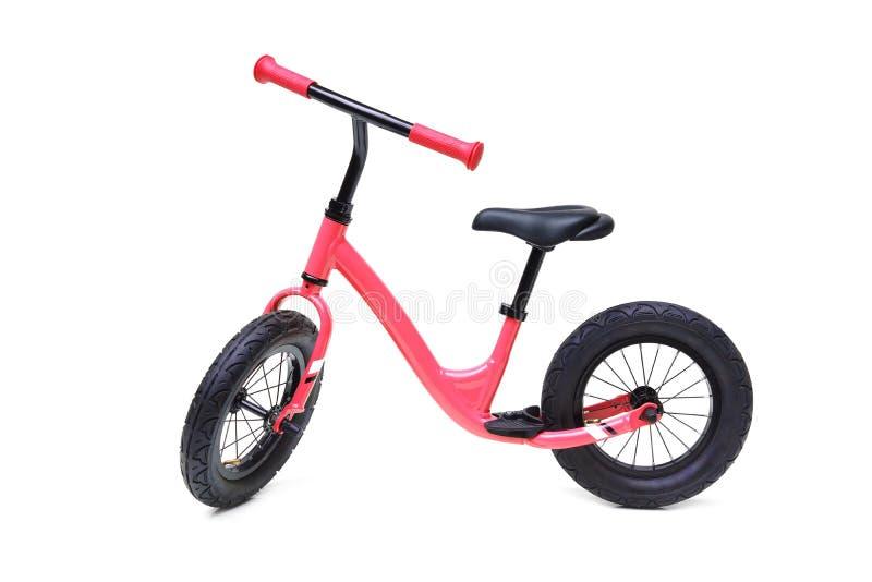 Велосипед с красным балансом стоковое фото