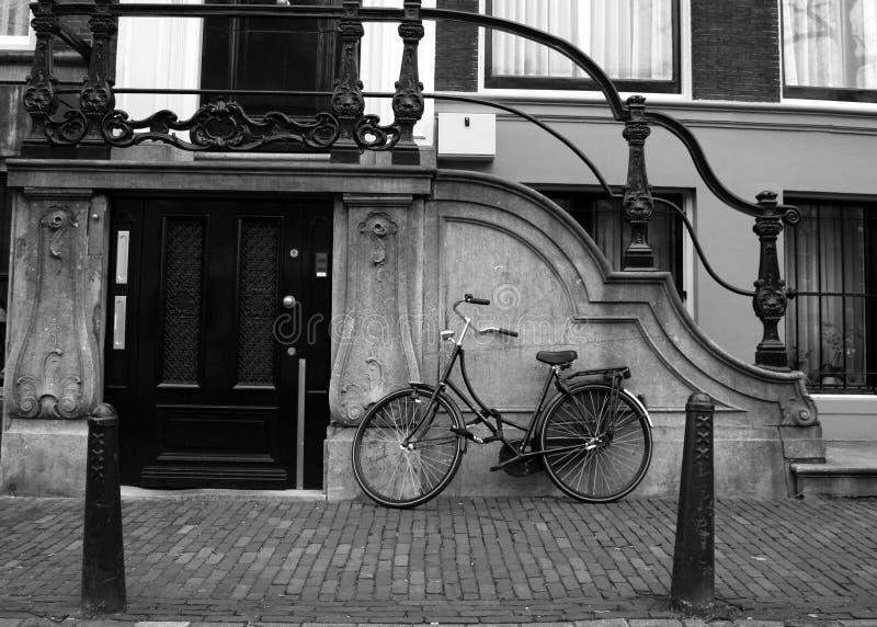 велосипед amsterdam стоковое изображение