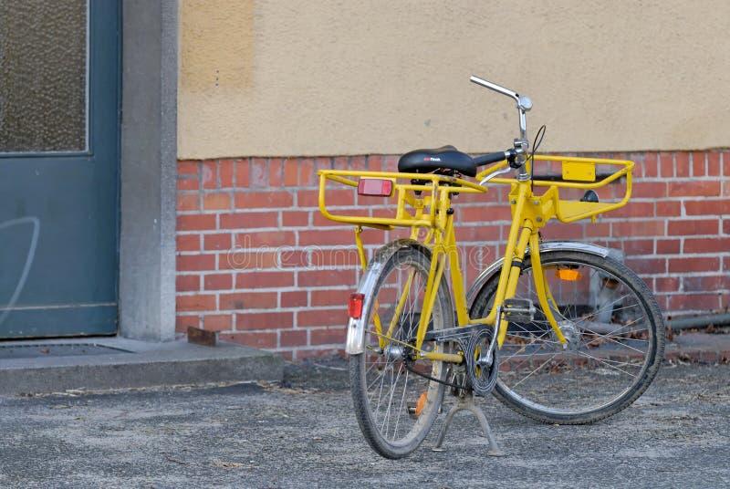 Велосипед Mailmen стоковое фото
