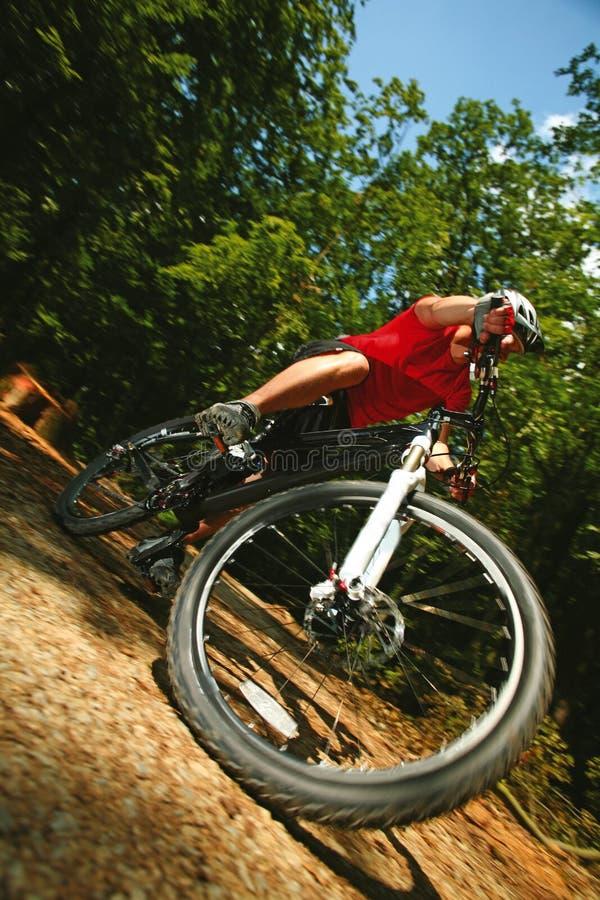 велосипед mtb грязи стоковые изображения