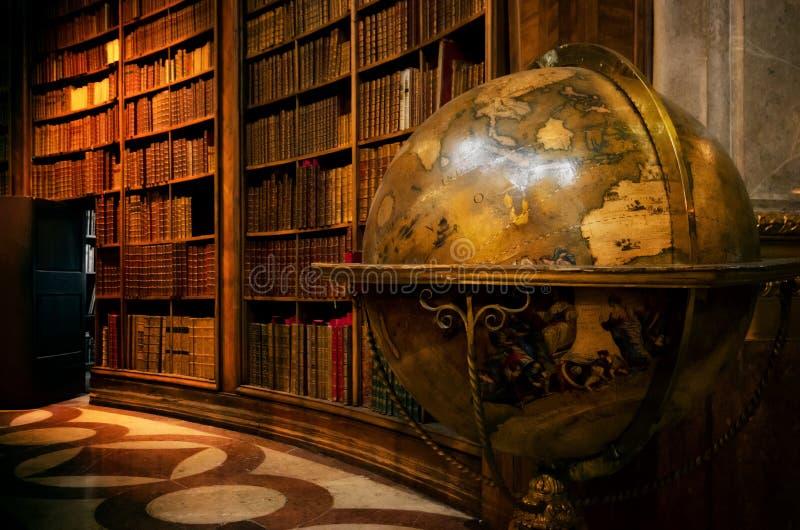 Вена, австрийская национальная библиотека стоковая фотография rf