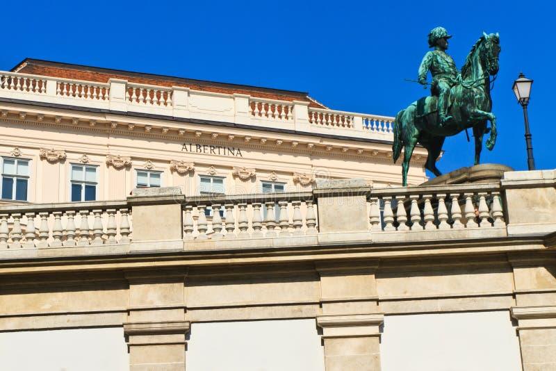 вена дворца albertina стоковая фотография rf
