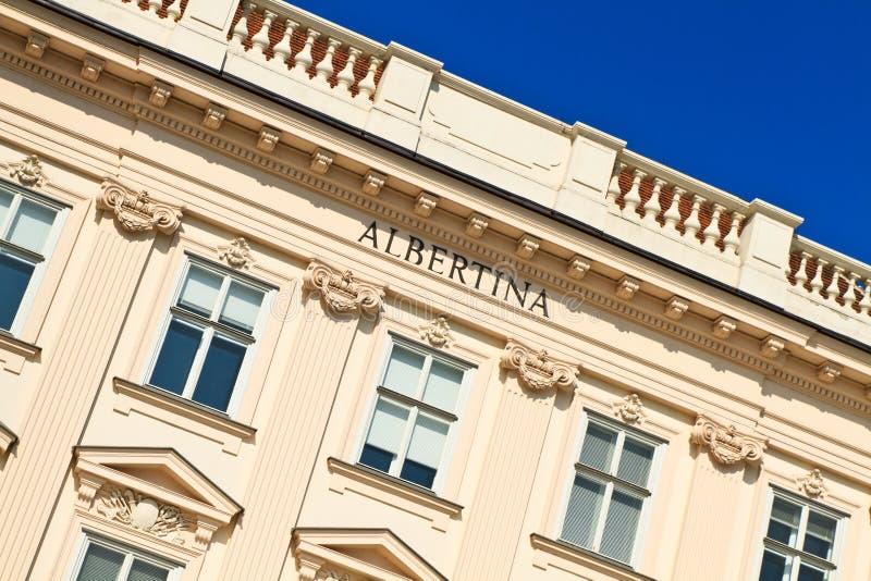 вена дворца albertina стоковые изображения rf