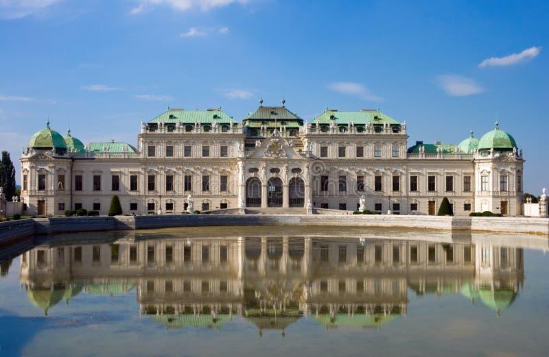 вена дворца belvedere стоковые изображения rf