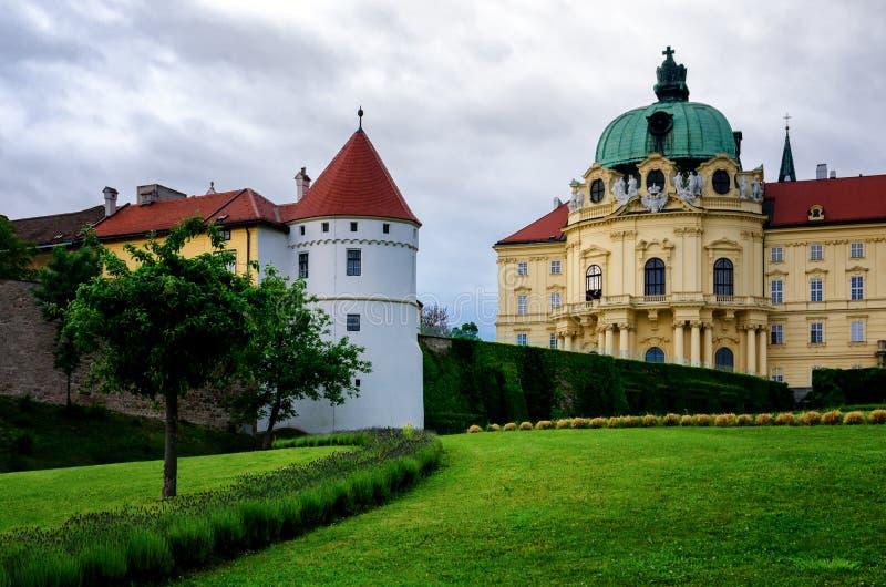 Вена, монастырь Клостернойбурга стоковая фотография rf
