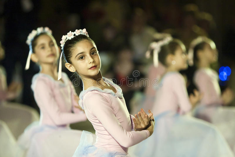 вена представления bucharest балета шарика стоковое изображение