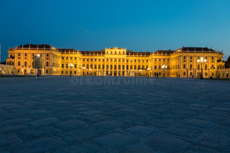 вена schonbrunn дворца стоковая фотография rf
