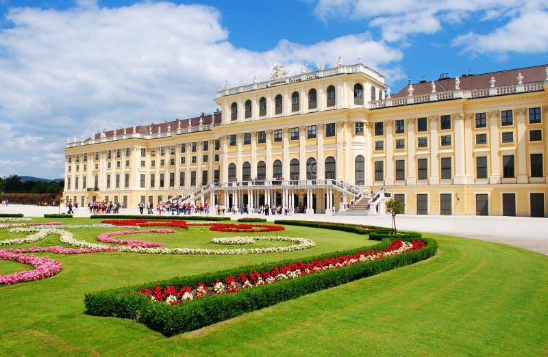 вена schonbrunn дворца стоковые изображения rf
