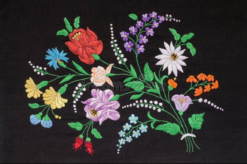 Венгерская вышивка стоковое изображение rf