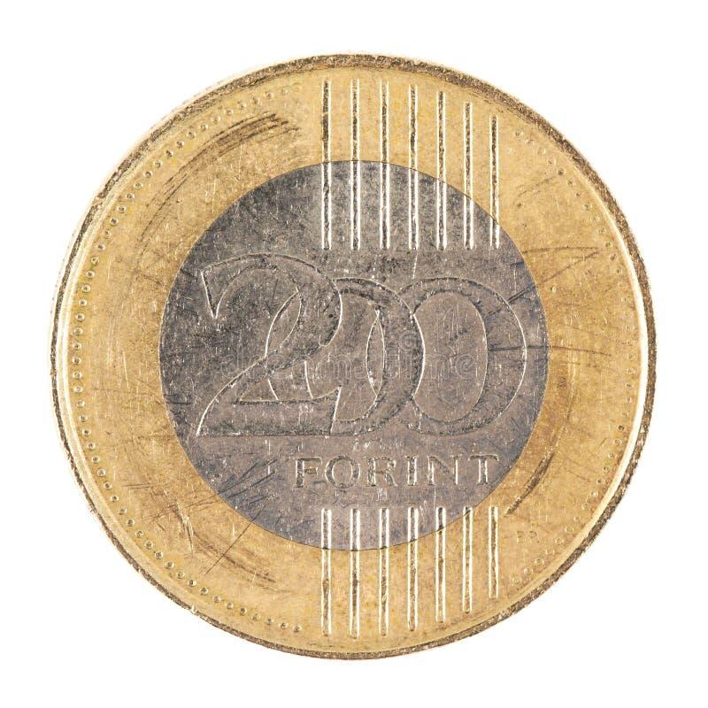 Download Венгерская монетка стоковое фото. изображение насчитывающей компенсация - 40581916