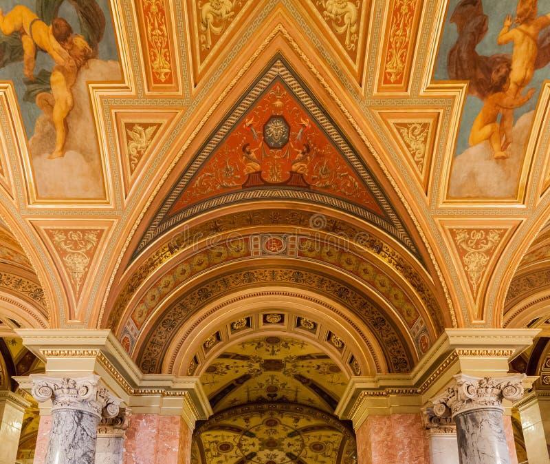 Венгерская опера Будапешт положения стоковое фото