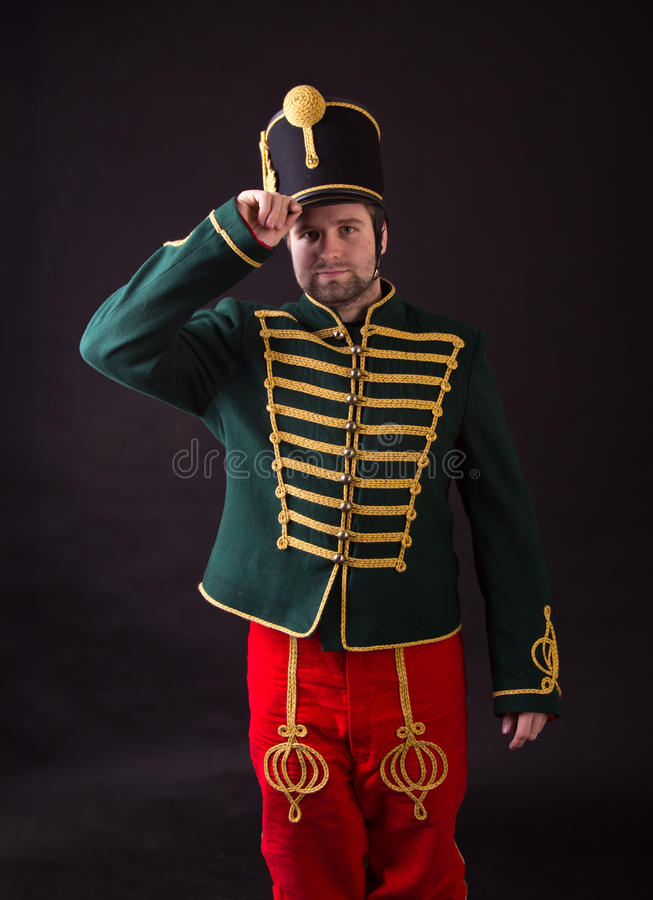 Венгерский hussar стоковое фото