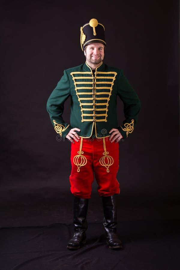 Венгерский hussar стоковое фото rf