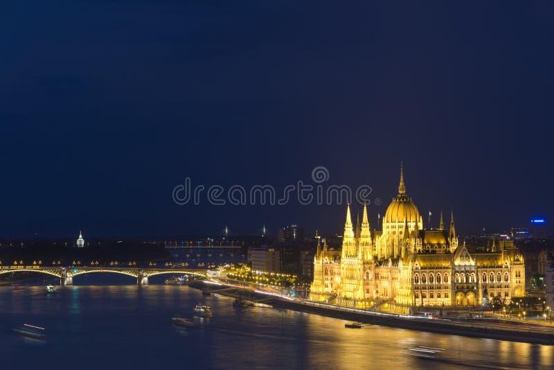 Венгерское здание парламента, Будапешт, Венгрия стоковое фото