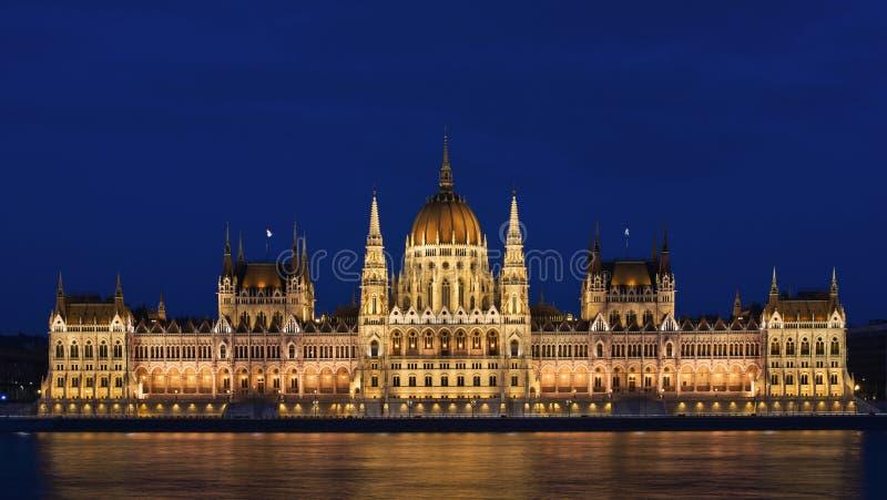 Венгерское здание парламента в Budapes стоковая фотография