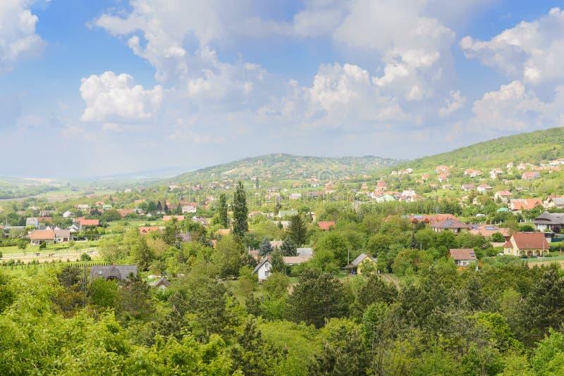 Венгерское село стоковые изображения rf