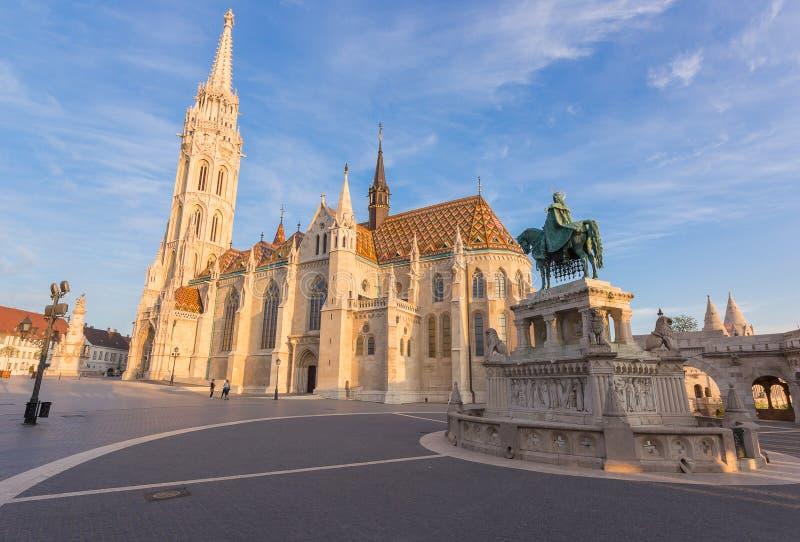 Венгрия, Будапешт, церковь Matthias стоковая фотография