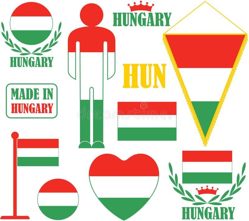 Венгрия иллюстрация вектора