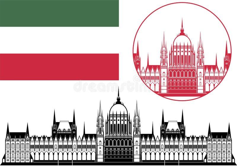 Венгрия иллюстрация штока