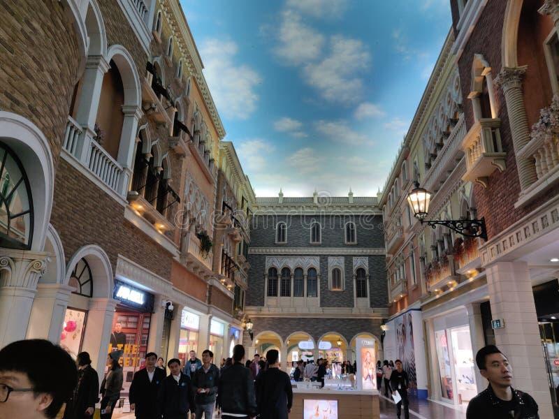 Венецианский Макао стоковое фото