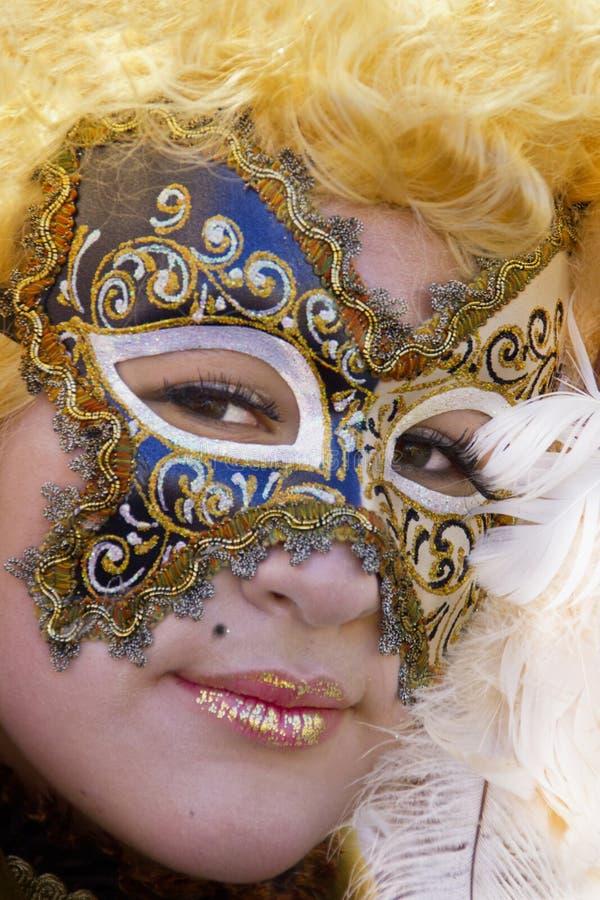 Венецианская маска масленицы стоковое фото rf