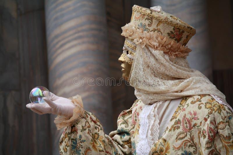 Венецианская маска масленицы стоковая фотография rf
