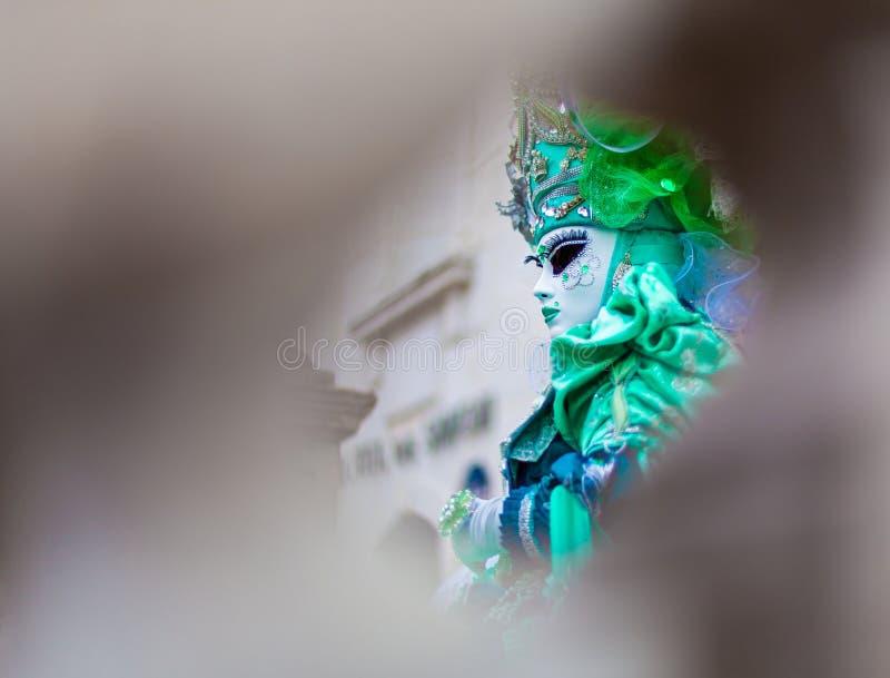 Венецианская масленица, Анси, франция стоковые фото