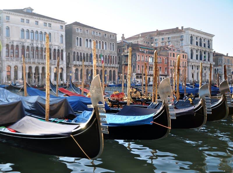Венецианские гондолы стоковые изображения rf