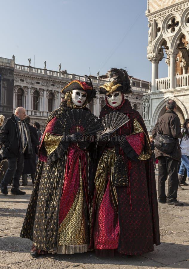 Венецианские маскировки стоковые фото