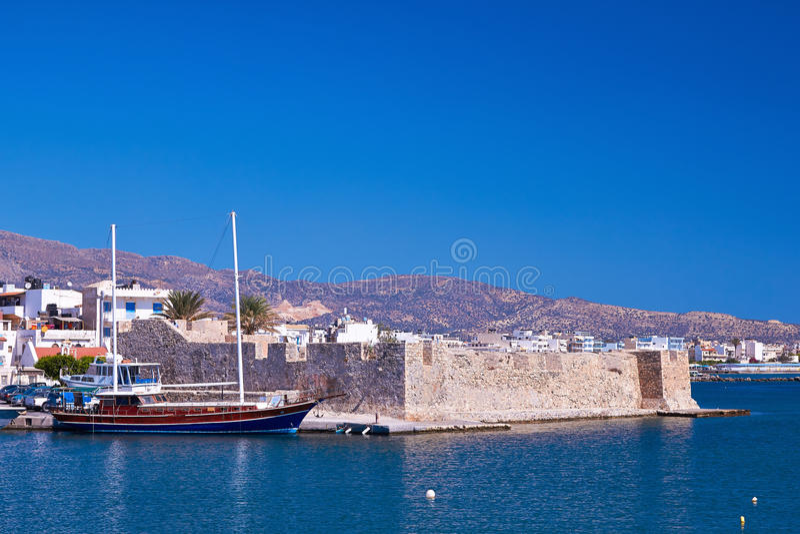 Венецианский форт в Ierapetra стоковые фото
