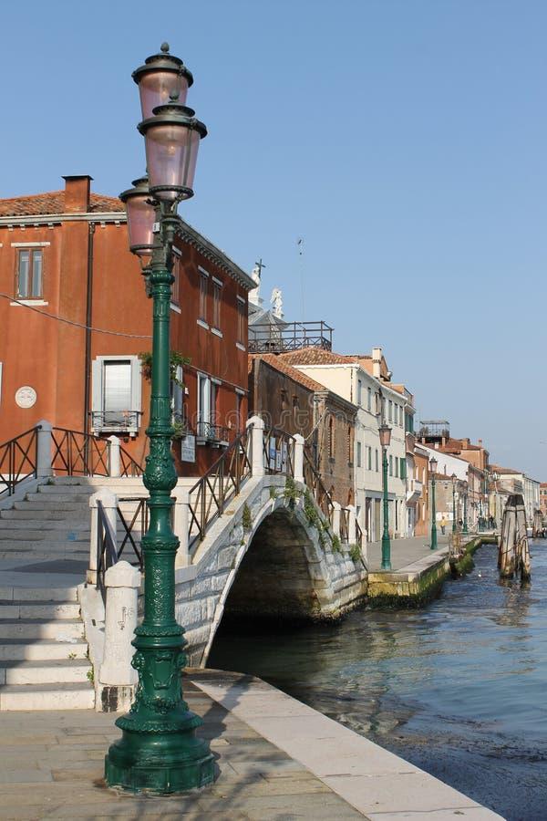 Венеция, вода, мосты, свет и красота стоковые изображения rf