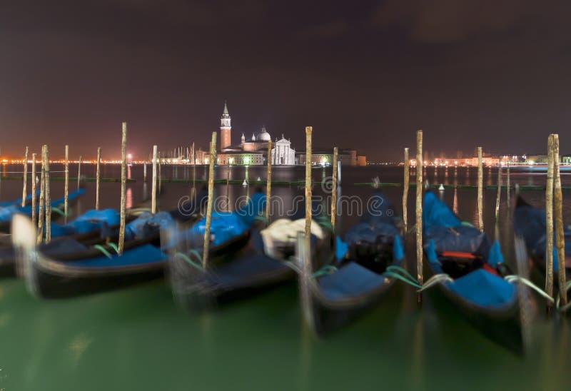 Венеция в зиме стоковая фотография rf