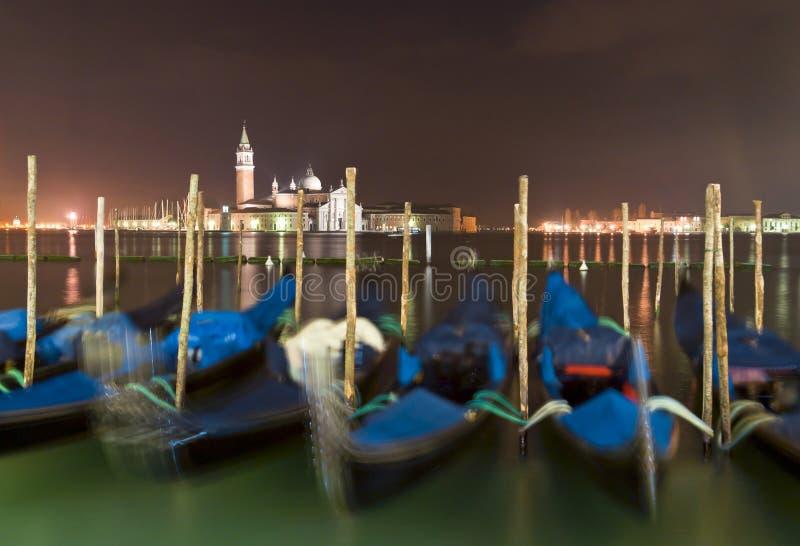 Венеция в зиме стоковое фото rf