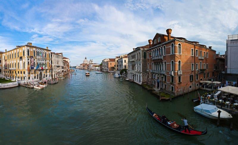 Венеция - грандиозный канал стоковое изображение