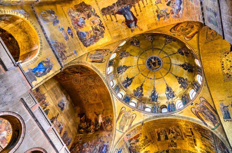 Венеция, Италия - базилика Сан Marco стоковые изображения rf