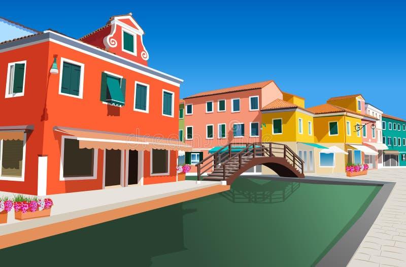 Венеция Италия иллюстрация вектора