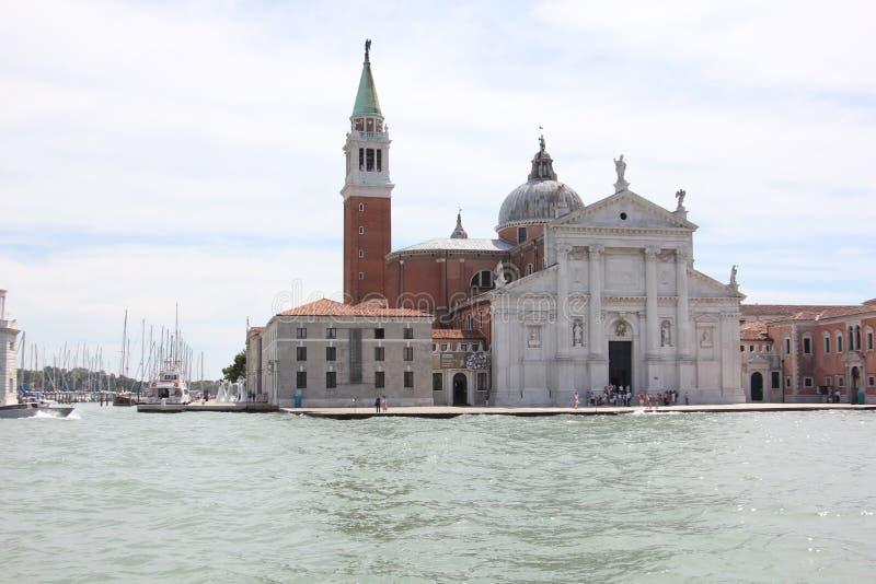 Венеция морским путем стоковая фотография rf