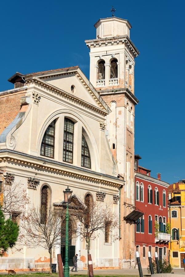 Венеция Церковь St Trovaso стоковая фотография rf
