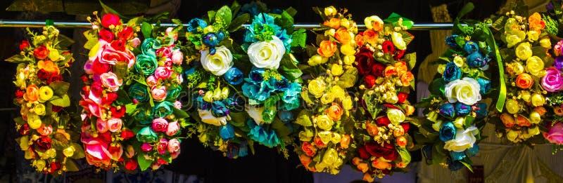 Венок головного убора цветков стоковое изображение