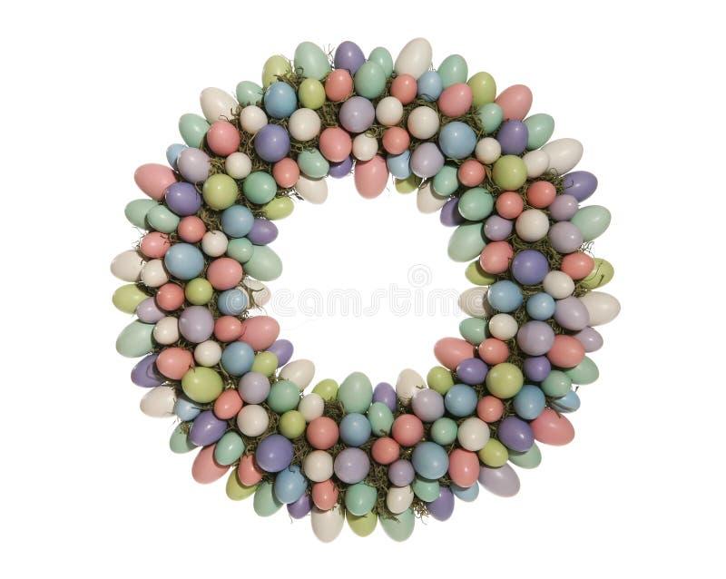 венок пасхального яйца стоковое фото rf