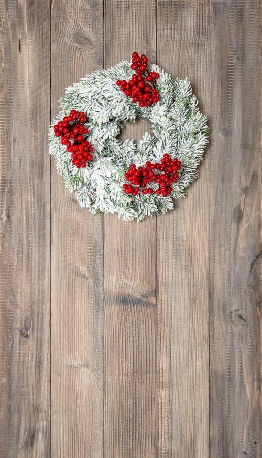 венок рождества ягод красный украшение праздничное стоковые фото
