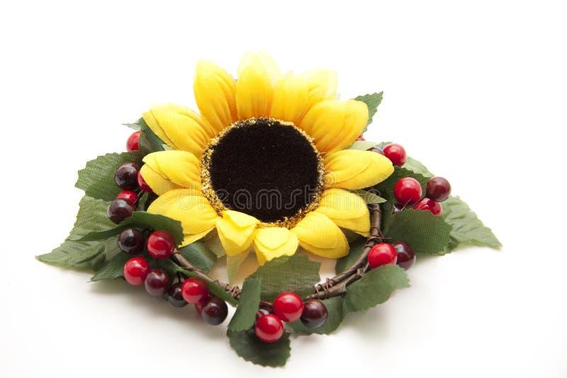 венок солнцецвета стоковое фото rf