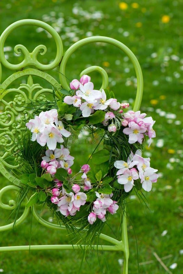 Венок цветка стоковая фотография rf