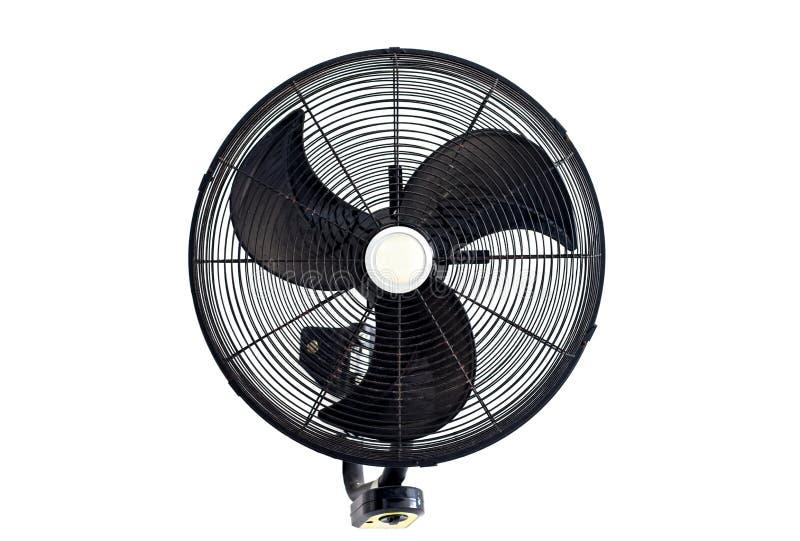 Вентилятор на белой предпосылке стоковое изображение rf