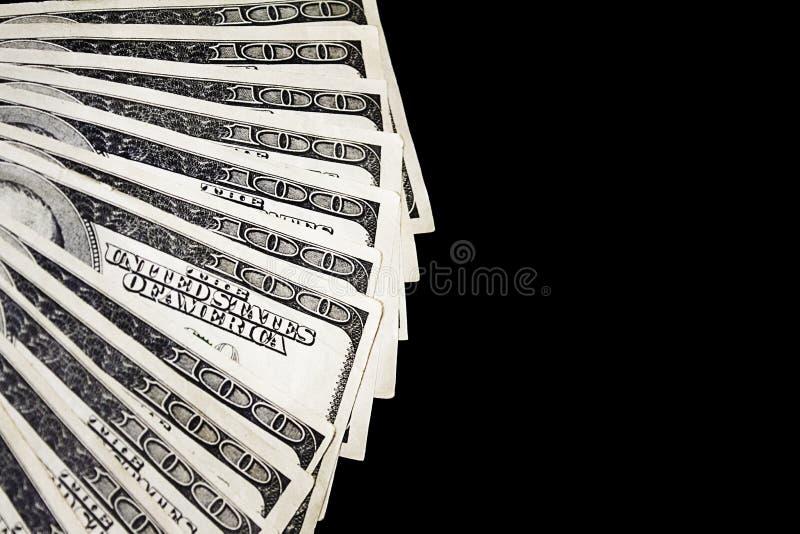Вентилятор денег стоковое изображение