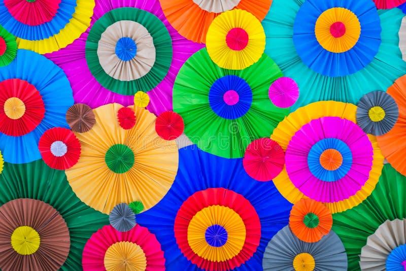Вентилятор полного цвета стоковые фото